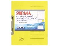 Desky-rychlovazač závěsný Sigma RZC žluté 10ks