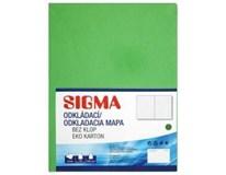 Desky Odkládací mapa Sigma 250 zelené 10ks