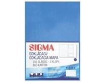 Desky Odkládací mapa Sigma 253 modré 10ks