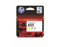 Cartridge HP 655 žlutá 1ks