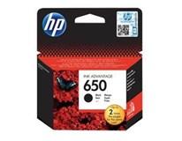 Cartridge HP 650 černá 1ks