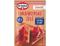 Dr.Oetker Cukrářské želé červené 36x10g