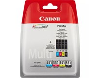 Cartridge Canon CLI-551 C/M/BK MP 1ks