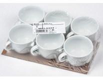Šálek na čaj Melodie 230ml 6ks