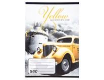 Sešit školní Notes 560 A5/60L čistý 1ks
