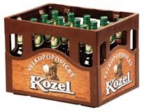 Velkopopovický Kozel 11° světlý ležák pivo 20x500ml vratná láhev