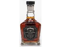 Jack Daniel's Tennessee single barrel 45% whiskey 1x700ml