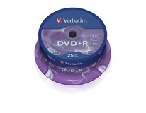 DVD+R Verbatim 47/16/25/CB 25ks