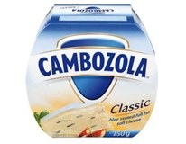 Cambozola sýr plísňový 70% duopack chlaz. 2x150g