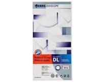 Obálka Sigma DL samolepicí bílá 50ks
