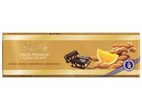Lindt čokoláda hořká mandle-pomeranč 1x300g