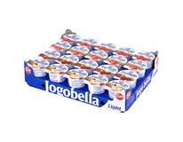 Zott Jogobella Jogurt light 1,3% mix (jahoda, višeň, pečené jablko, malina) chlaz. 20x150g