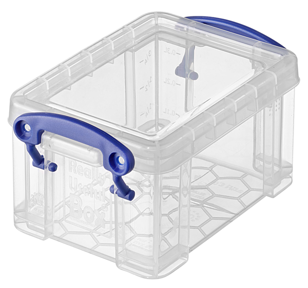 Really Useful Products Aufbewahrungsbox Klar