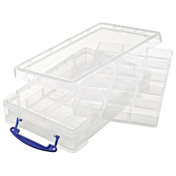 Really Useful Products Aufbewahrungsbox 4l Transparent