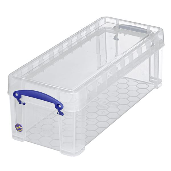 Really Useful Products Aufbewahrungsbox 6,5 l Transparent