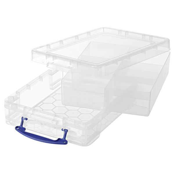 Really Useful Products Aufbewahrungsbox 11 l Transparent
