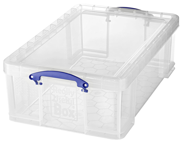 Really Useful Products Aufbewahrungsbox Transparent