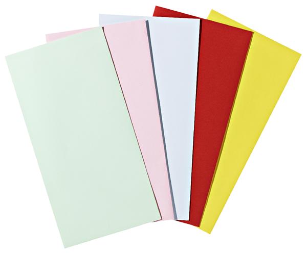 Pollen Briefumschläge Rosa DIN Lang - 20 Stück