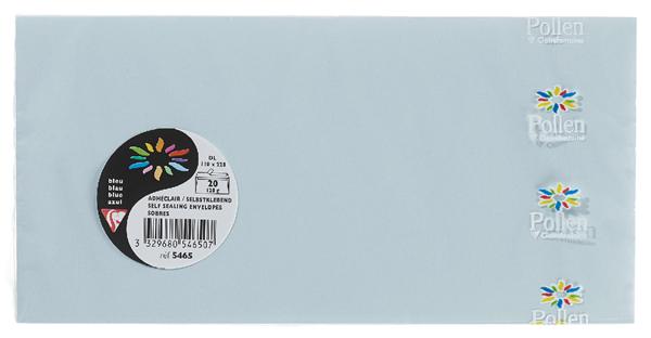Pollen Briefumschläge Chamois DIN Lang - 20 Stück