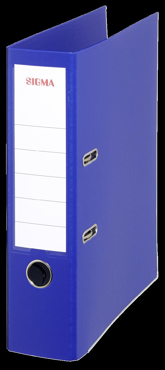 Sigma Ordner Breit Blau - 5 Stück