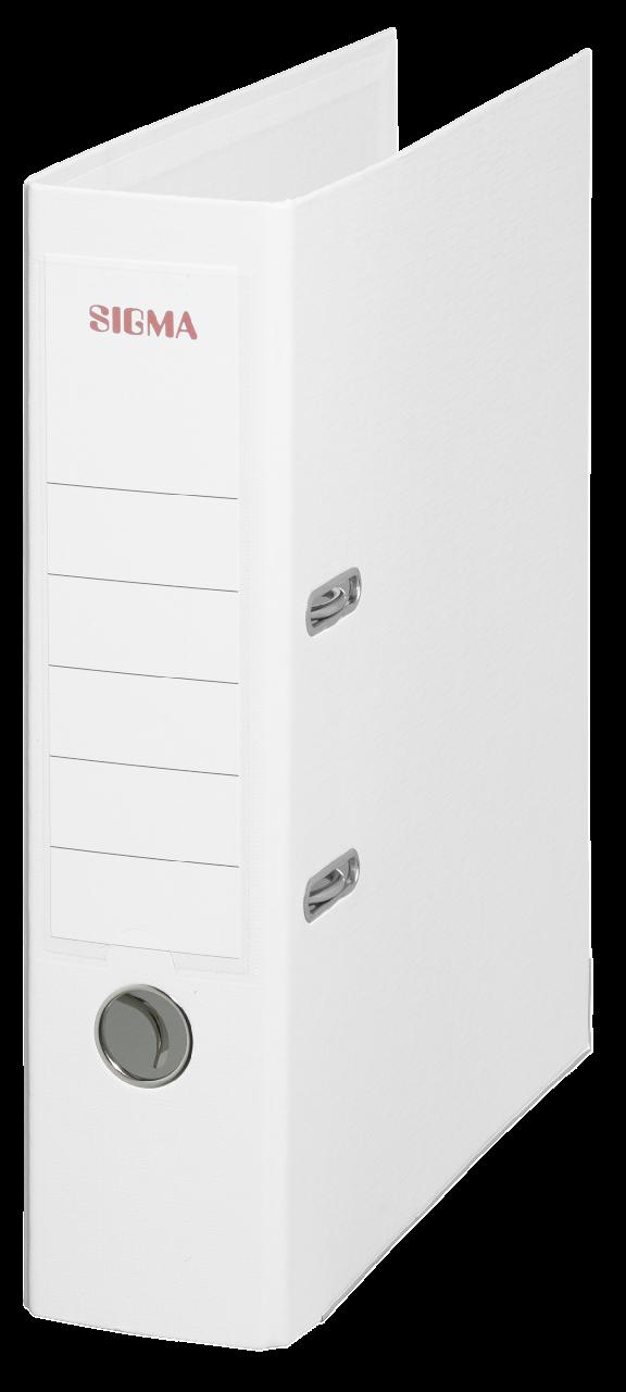Sigma Ordner Breit Weiß - 5 Stück