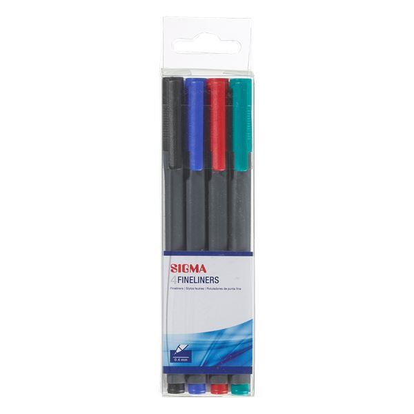 Sigma Fineliner - 4 Stück