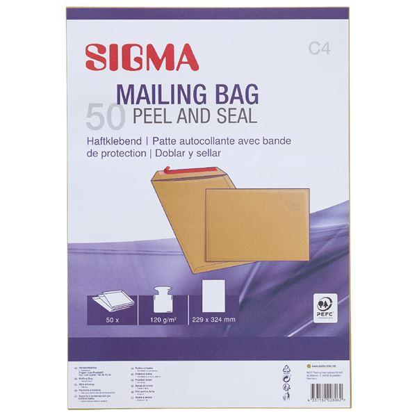 Sigma Versandtaschen DIN C4 - 50 Stück