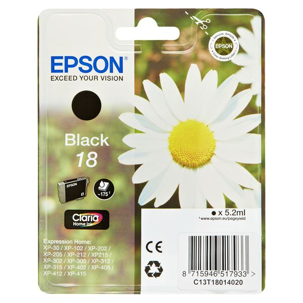 Epson Tintenpatrone T8101 Schwarz