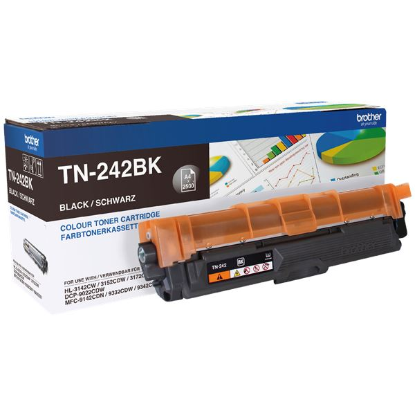 Brother Toner TN-242BK