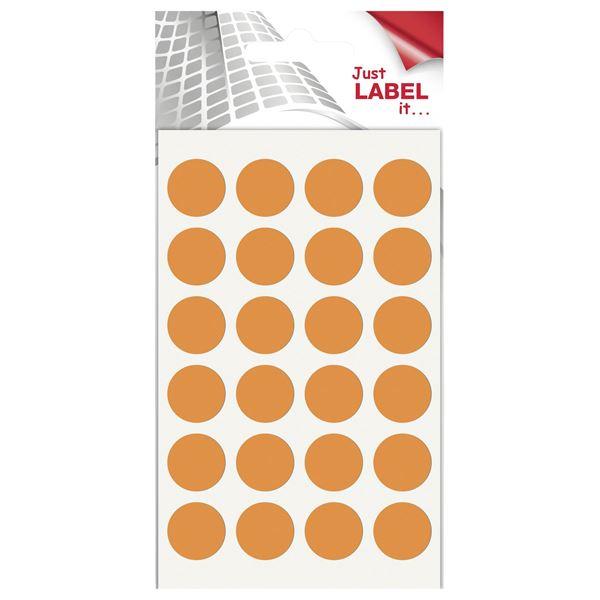 Wäsch Farbige Markierungspunkte - 96 Stück