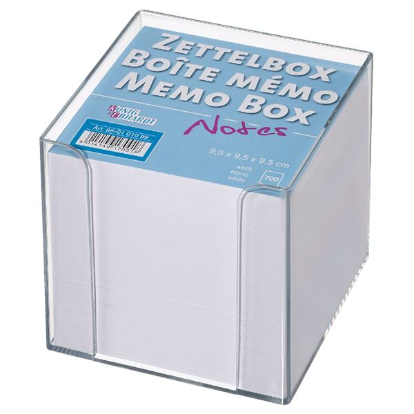 König & Ebhardt Zettelbox