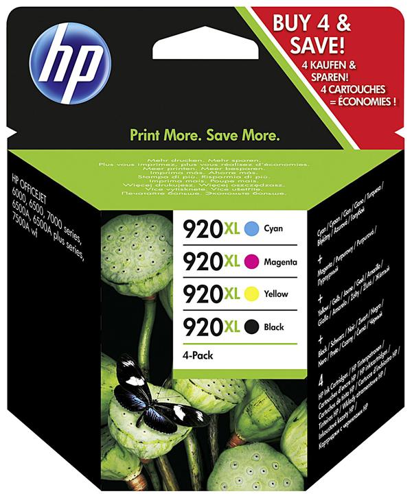 HP Tintenpatrone 920XL Multipack