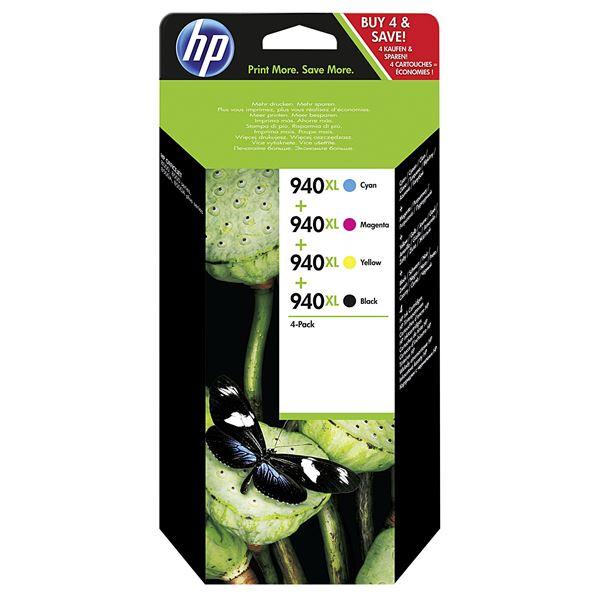 HP Tintenpatrone 940XL Multipack