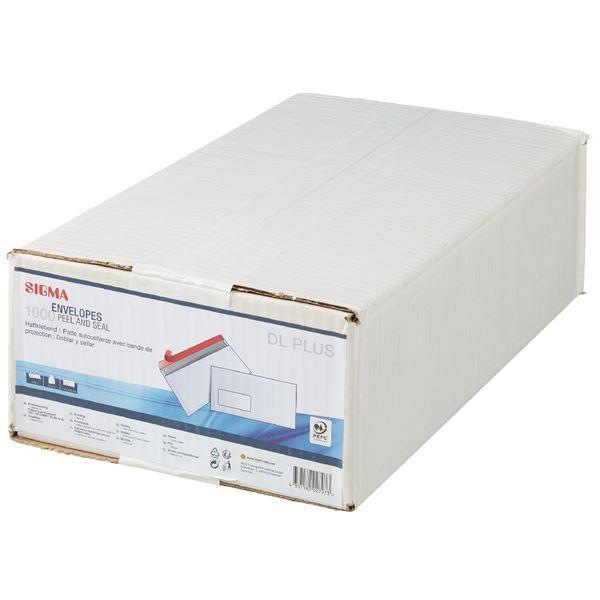 Sigma Kompakt-Briefumschläge - 1000 Stück