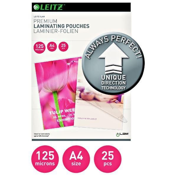 Leitz iLam Premium Laminier-Folien A4 - 25 Blatt