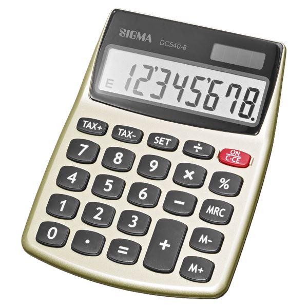 Sigma Tischrechner DC540-8