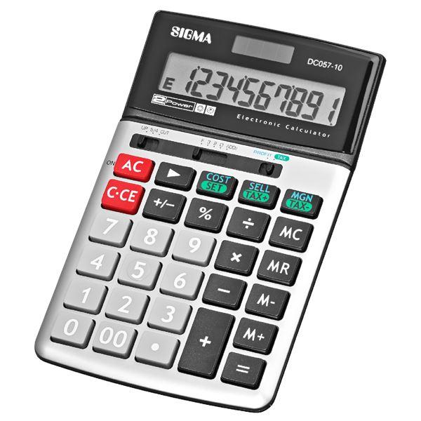 SIGMA DC057-10 Tischrechner