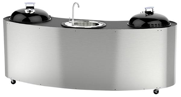 Modulare Outdoorküche Edelstahl | Gasgrills | Grillen | Outdoor | METRO