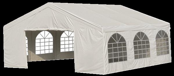 H-Line Universalpavillon 5 x 5,8 m Weiß