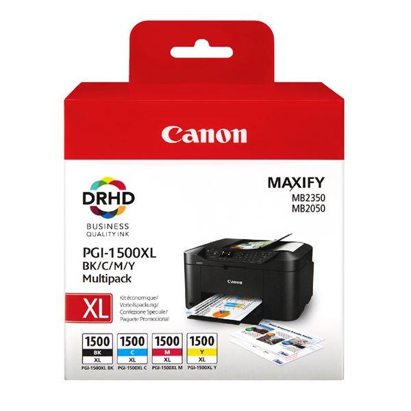 Canon Tintenpatrone PGI 1500XL Multipack