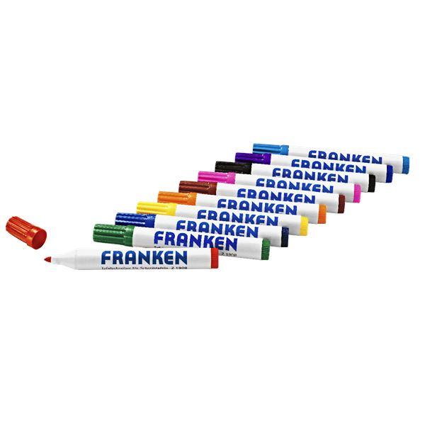 Franken Whiteboard-Marker - 10 Stück