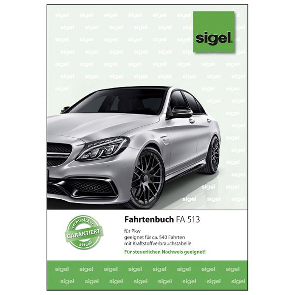 Sigel FA513 Fahrtenbuch A5
