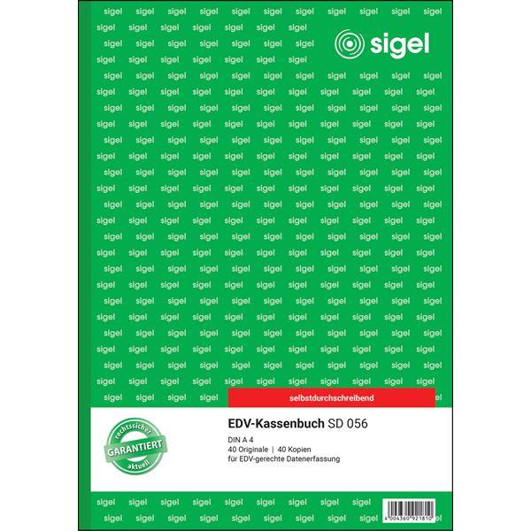 Sigel DIN A4 SD056 EDV-Kassenbuch A4