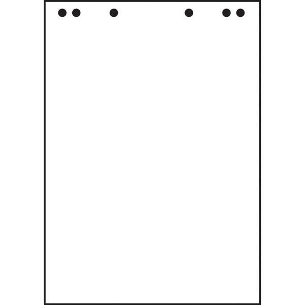 Flipchartblock - 5 x