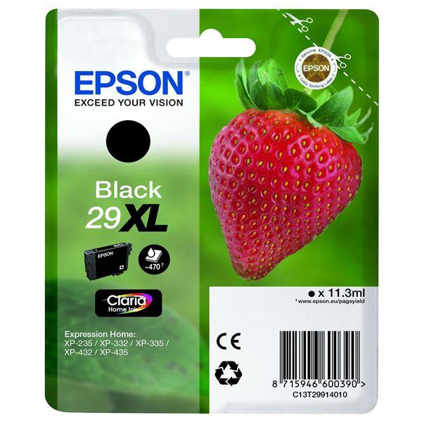 Epson Patrone T 2991 XL Schwarz