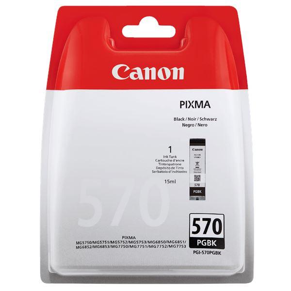 Canon Tintenpatrone PGI 570PG BK