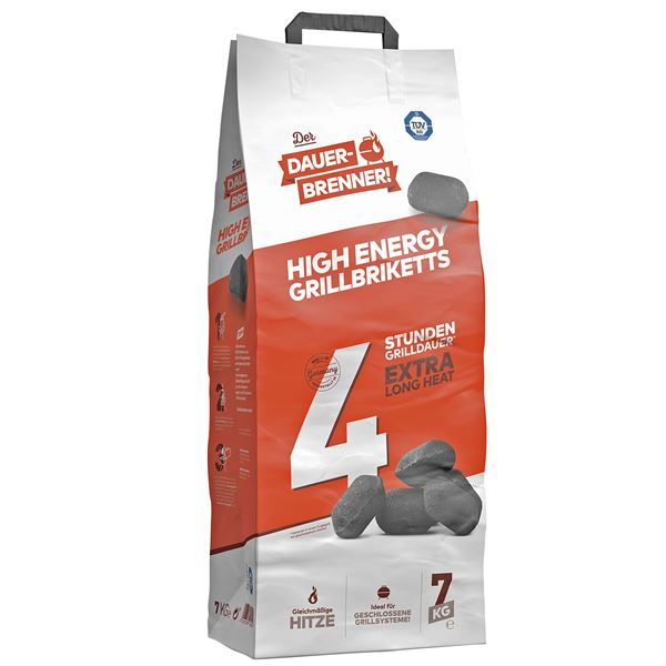 Dauerbrenner High Energy Grillbriketts 7 kg