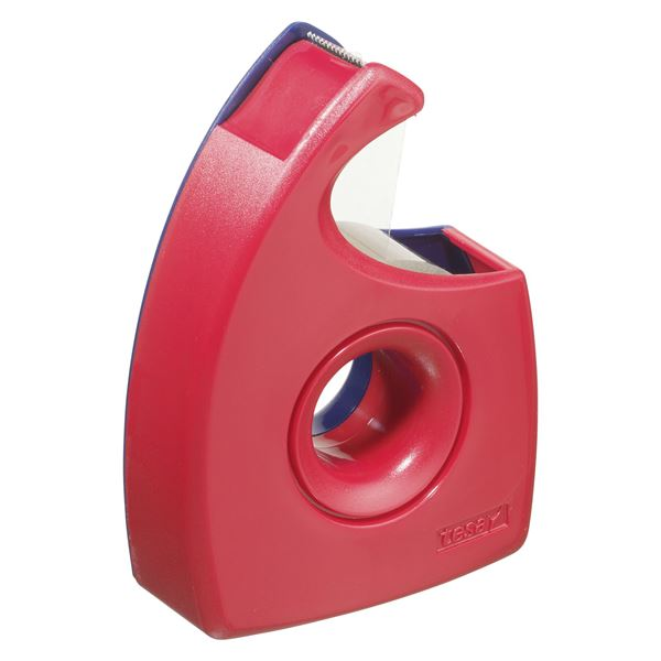 Tesa Easy Cut Handabroller Blau, Rot