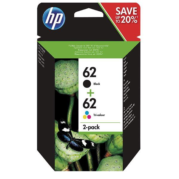 HP Tintenpatrone 62 Twinpack
