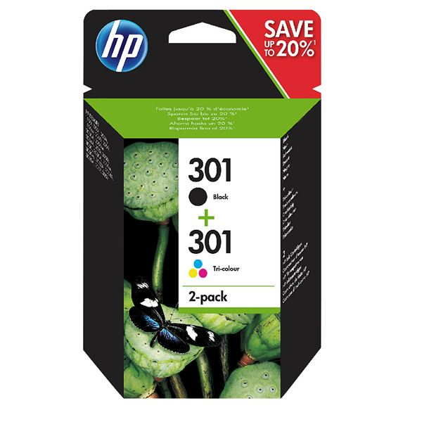 HP Tintenpatrone 301 Twinpack